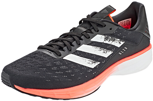 adidas Sl20 Chaussures Homme, core blackfootwear whitesignal coral
